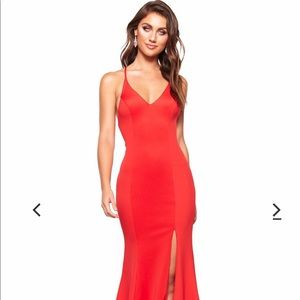 A&N Luxe Label Dresses - A&N Luxe Label Red Gown